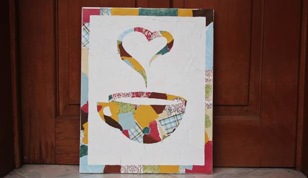 make these beautiful u0026 simple canvas ... & mod podge canvas art. | kitesnsights