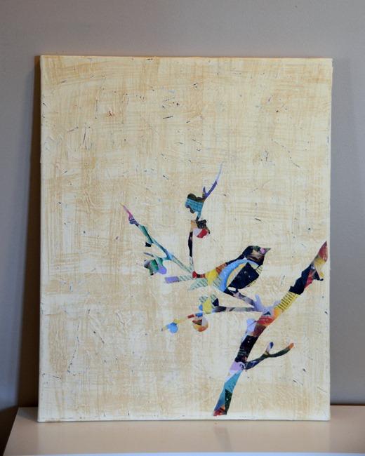 mod podge canvas art. | kitesnsights